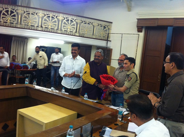 Parisar appointed as a member of District Road Safety Committee of Pune